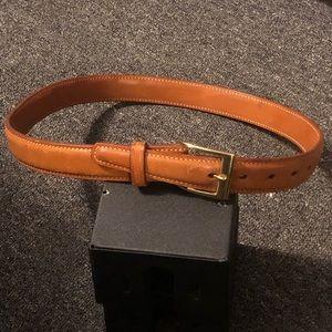 Galco handmade USA belt C-FM 34, never worn. Tan.